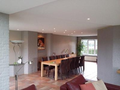 Spanplafond in uw woon- of slaapkamer